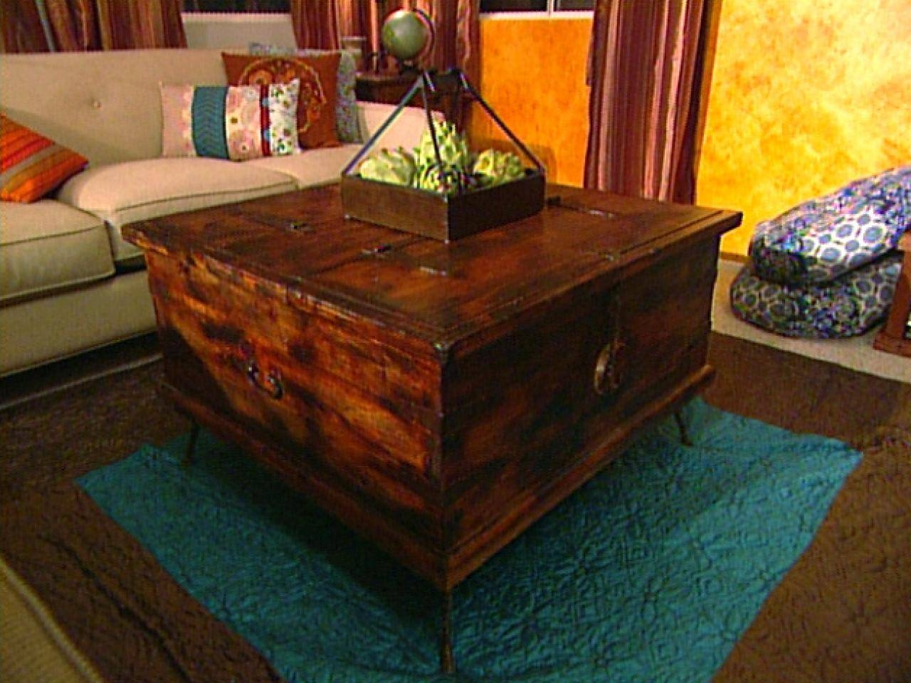Giving Furniture A Chic Rustic Look   Hgtv with regard to Rustic Style Coffee Tables (Image 19 of 30)
