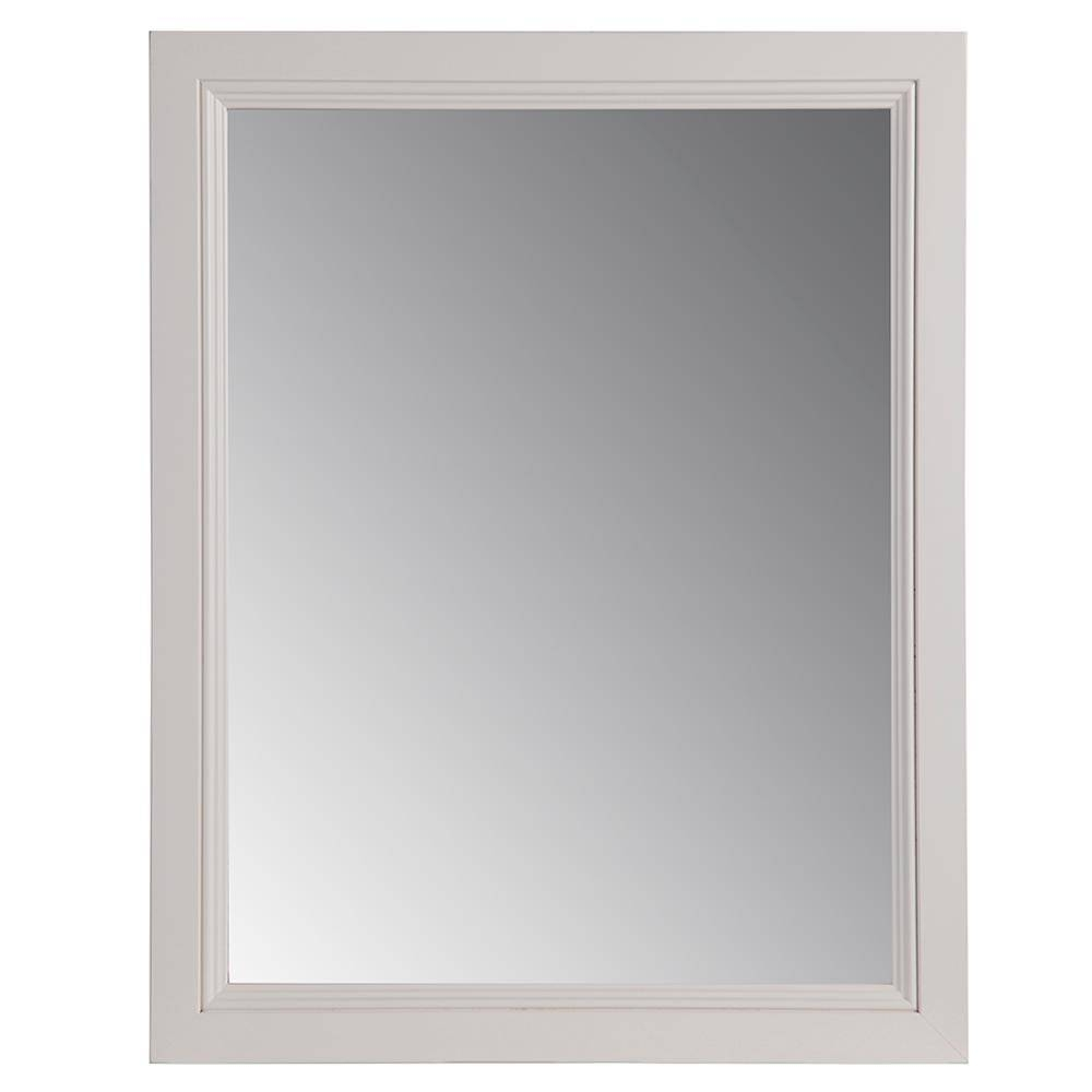 Glacier Bay Valencia 21.85 In. X 27.4 In. Single Framed Wall for Cream Wall Mirrors (Image 15 of 25)