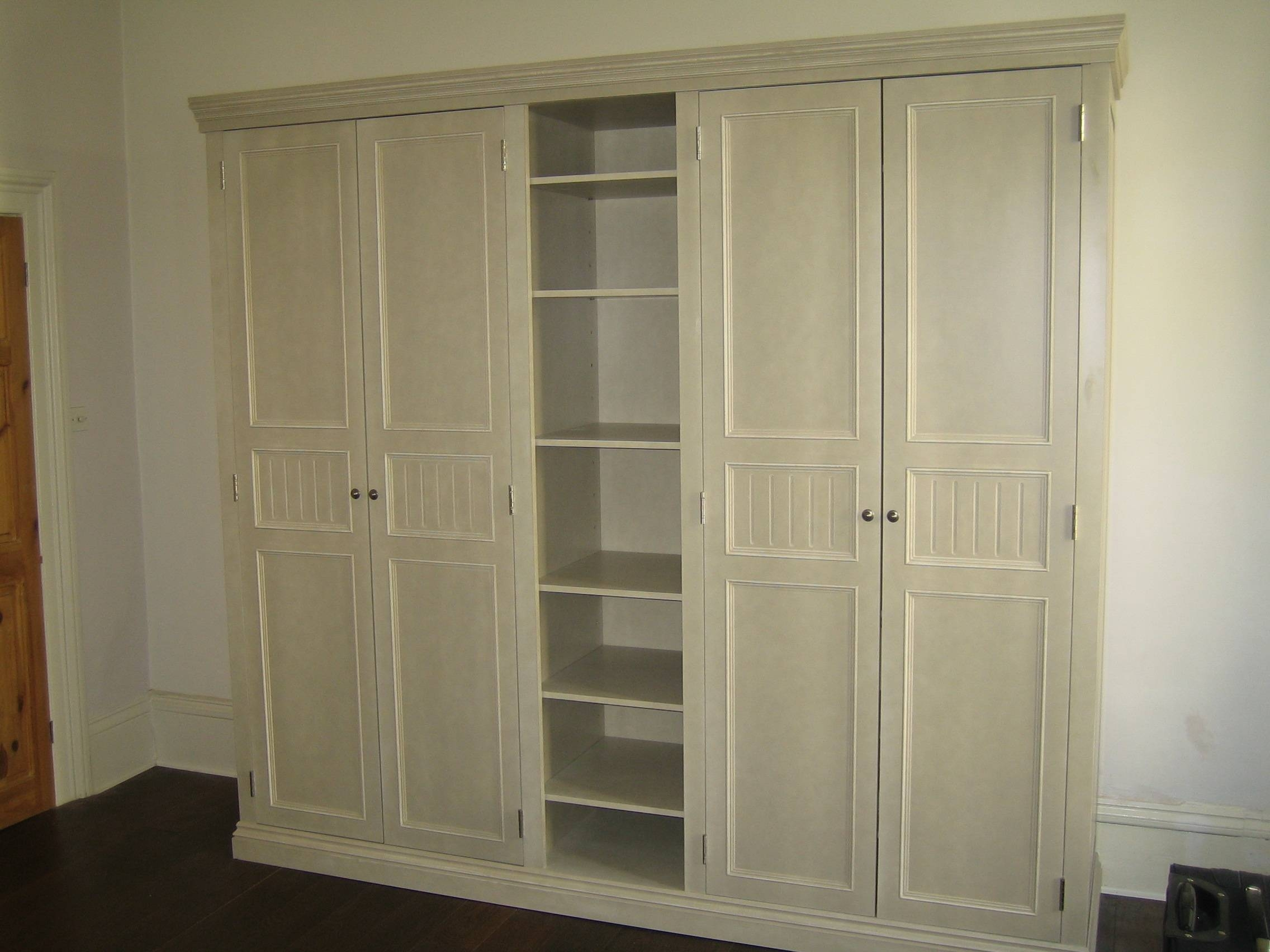 Glamorous Antique Bedroom Armoire Wardrobe Closet Antique French with French Built in Wardrobes (Image 11 of 15)