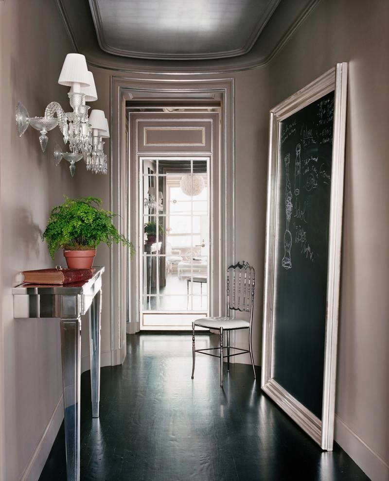 Glamorous Demilune Tablein Entry Contemporary With Artistic Intended For Contemporary Hall Mirrors (View 6 of 25)