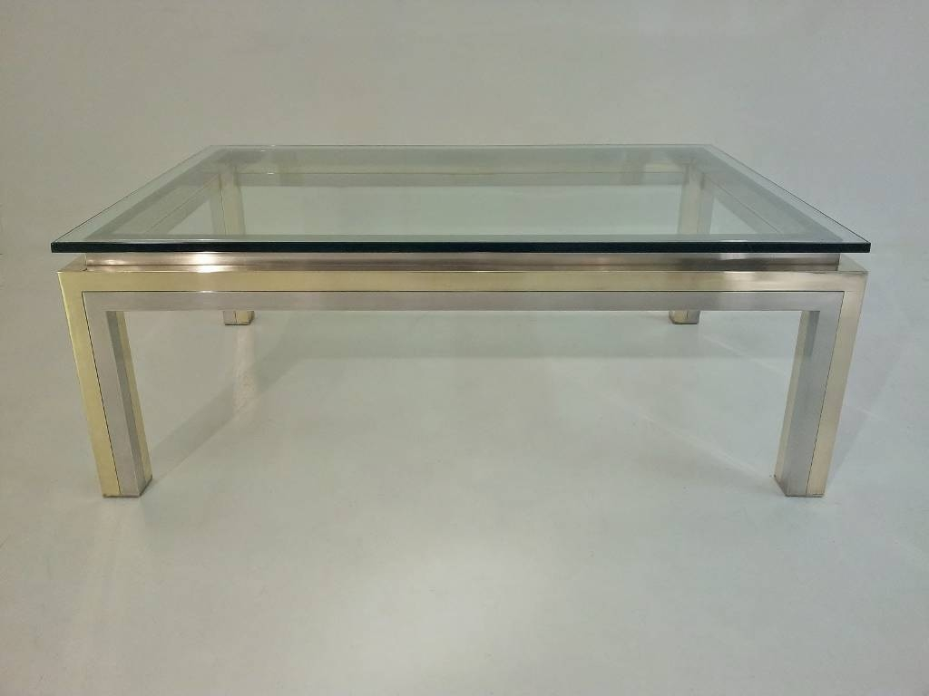 Glass And Chrome Coffee Table Ideas Tables Stunning Modern High for Glass Chrome Coffee Tables (Image 18 of 30)