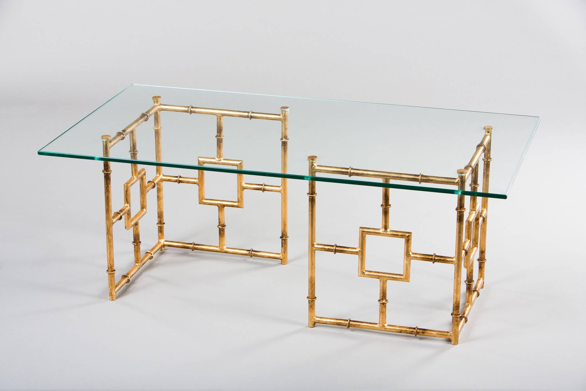 Glass And Gold Coffee Table  Silver And Gold Glass Coffee Table within  Antique Glass Coffee