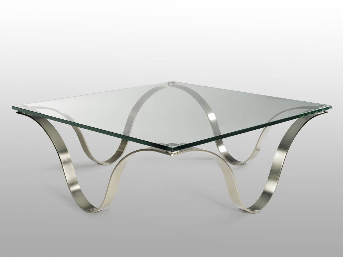 Glass And Metal Coffee Table (View 13 of 30)