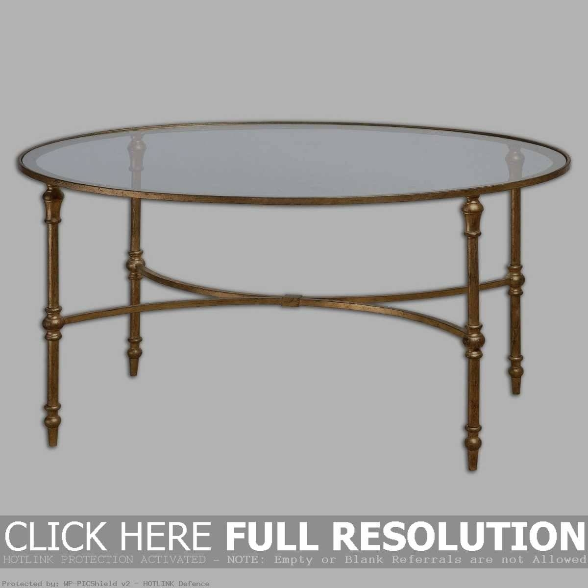 Glass And Metal Coffee Table. Large Ikea Glass And Metal Coffee with Antique Brass Glass Coffee Tables (Image 22 of 37)