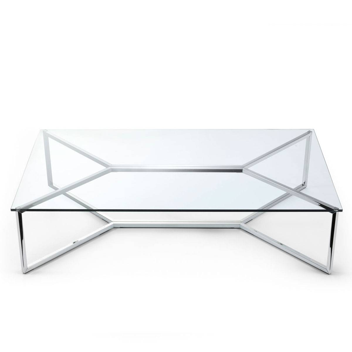 Popular Photo of Coffee Tables Metal And Glass