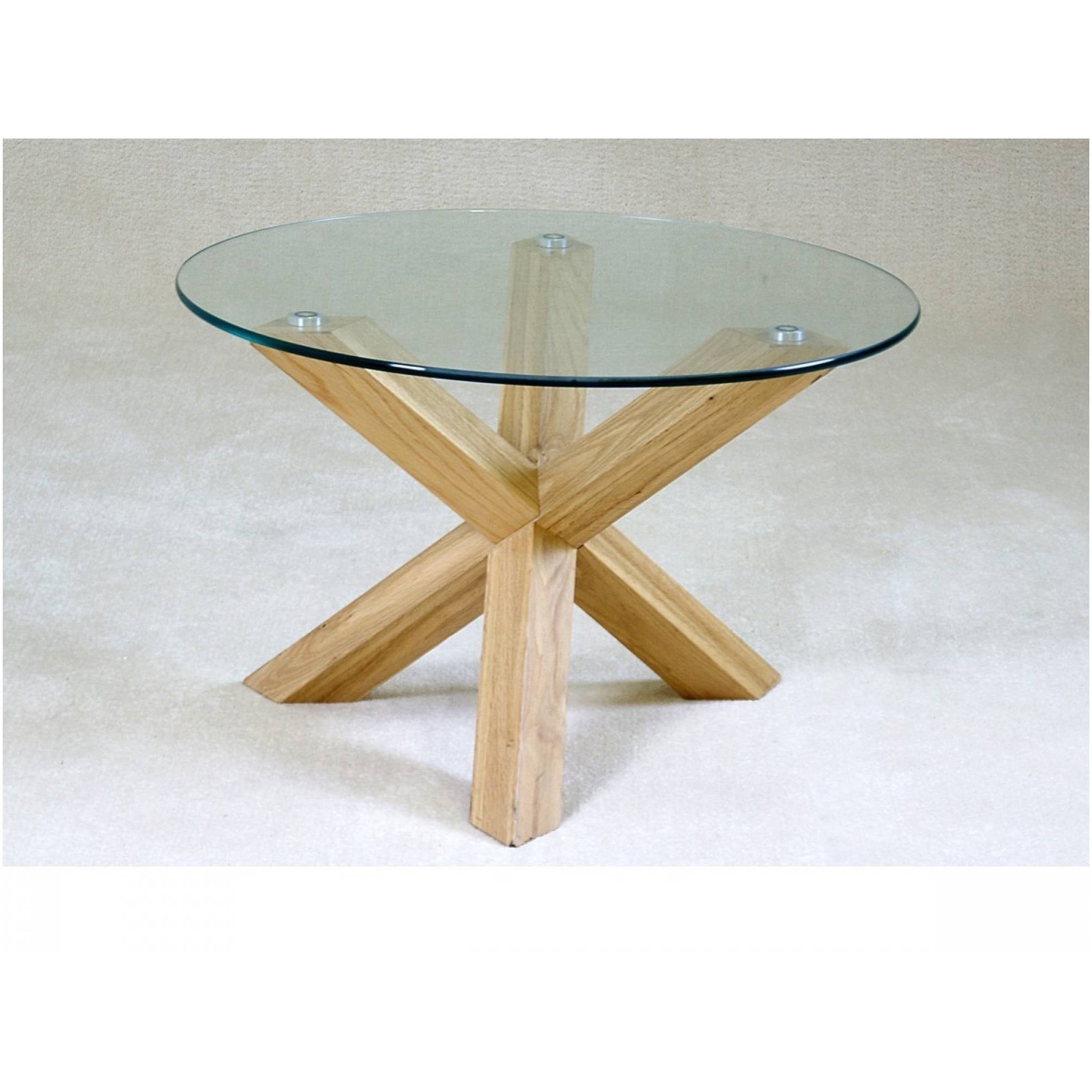Glass And Oak Coffee Tables – Cocinacentral.co pertaining to Oak and Glass Coffee Tables (Image 15 of 30)