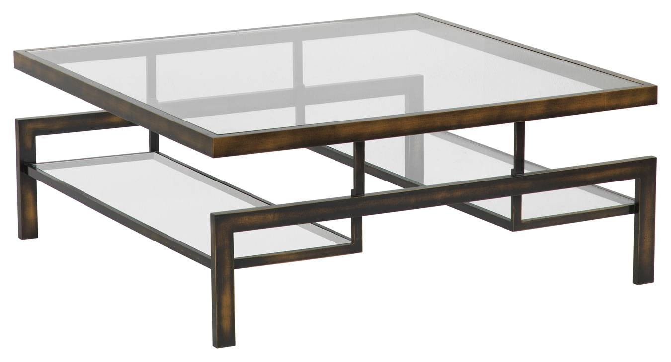 Glass And Steel Coffee Table Design Ideas Stai / Thippo in Glass Coffee Tables With Shelf (Image 14 of 30)