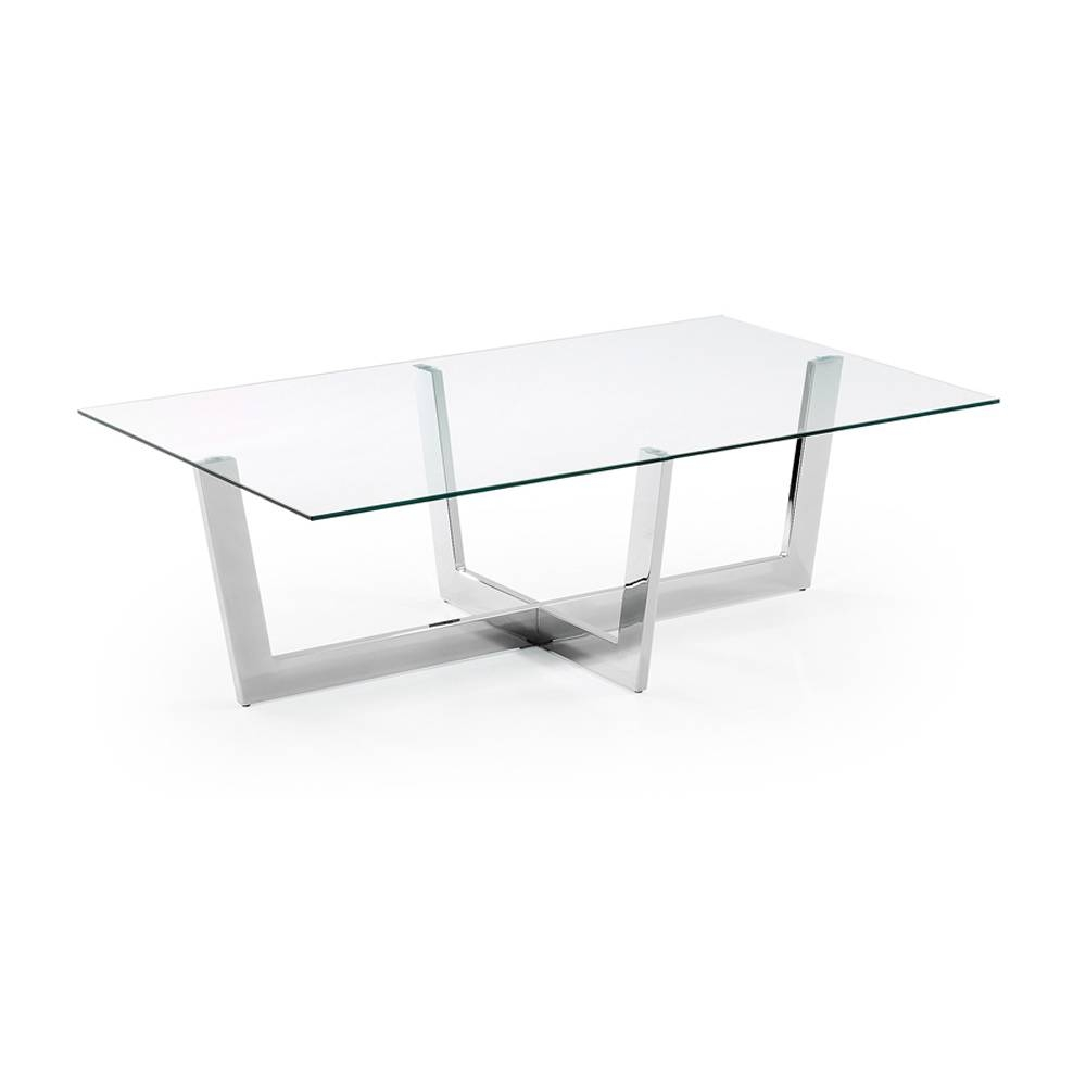 Glass Coffee Table Aina, Modern Design with regard to Transparent Glass Coffee Tables (Image 18 of 30)