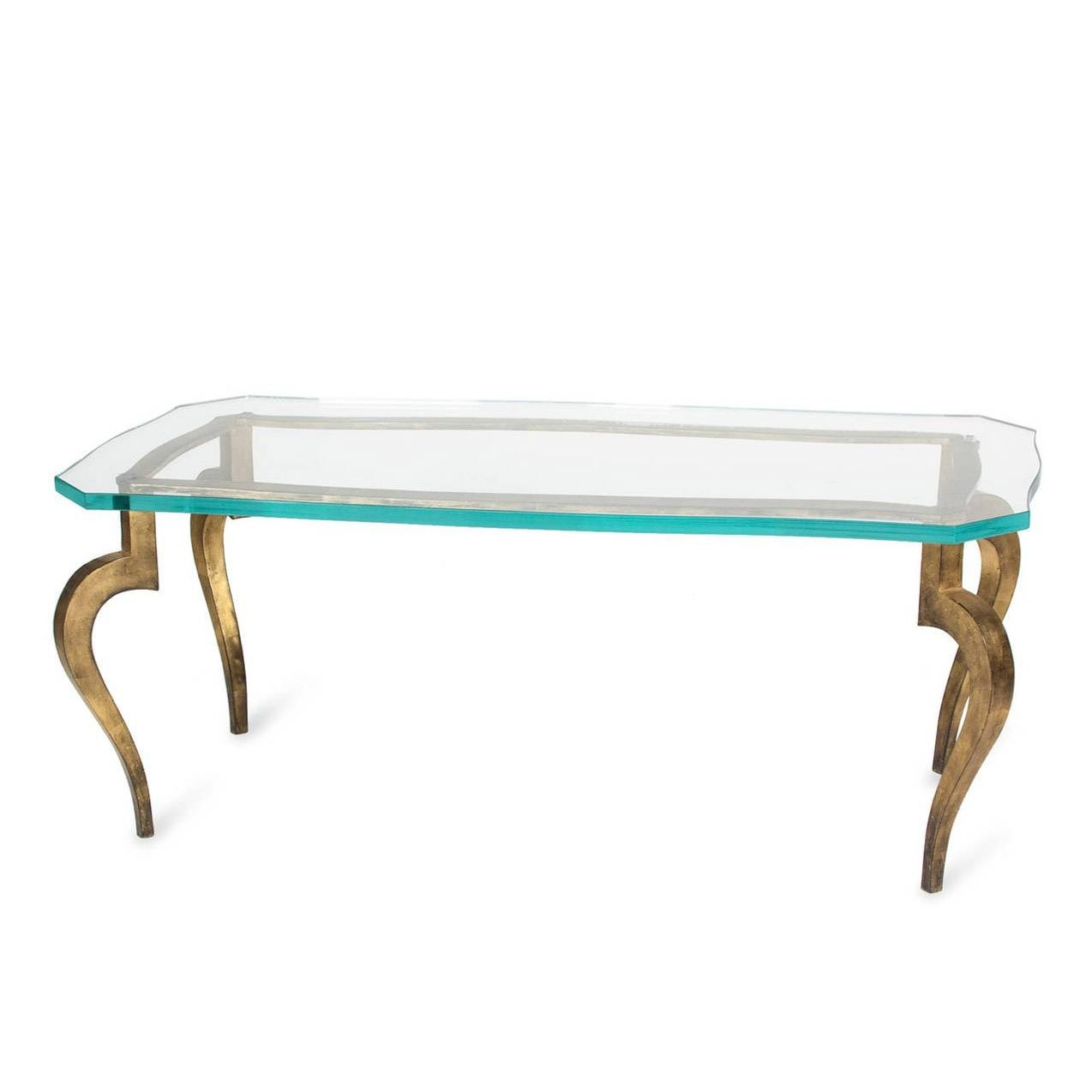 Glass Coffee Table With Bronze Legs Courtagerivegauche - Jericho inside Bronze Coffee Tables (Image 17 of 30)