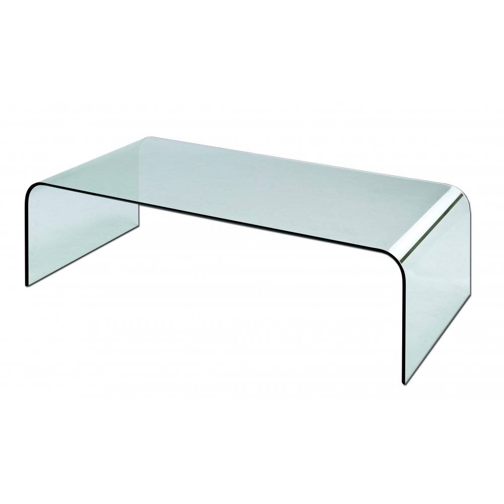 Glass Coffee Tables: Fascinating Glass And Metal Coffee Tables In Curve Coffee Tables (View 14 of 30)