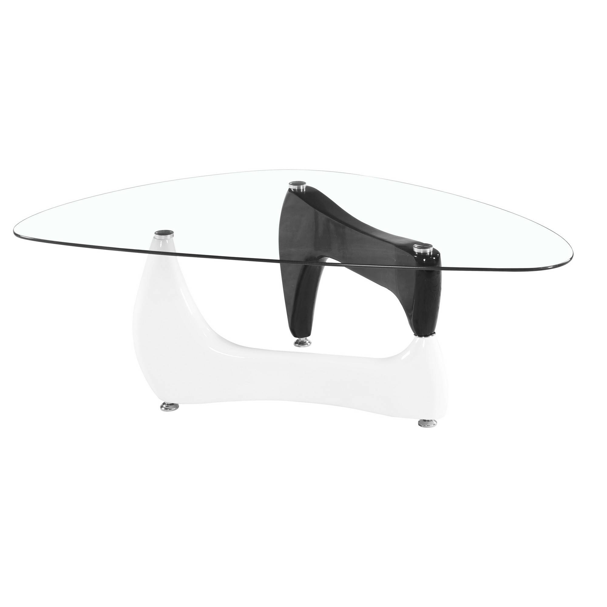 Glass Coffee Tables - Tempered Glass Coffee Table - Small Oval intended for White And Glass Coffee Tables (Image 14 of 30)