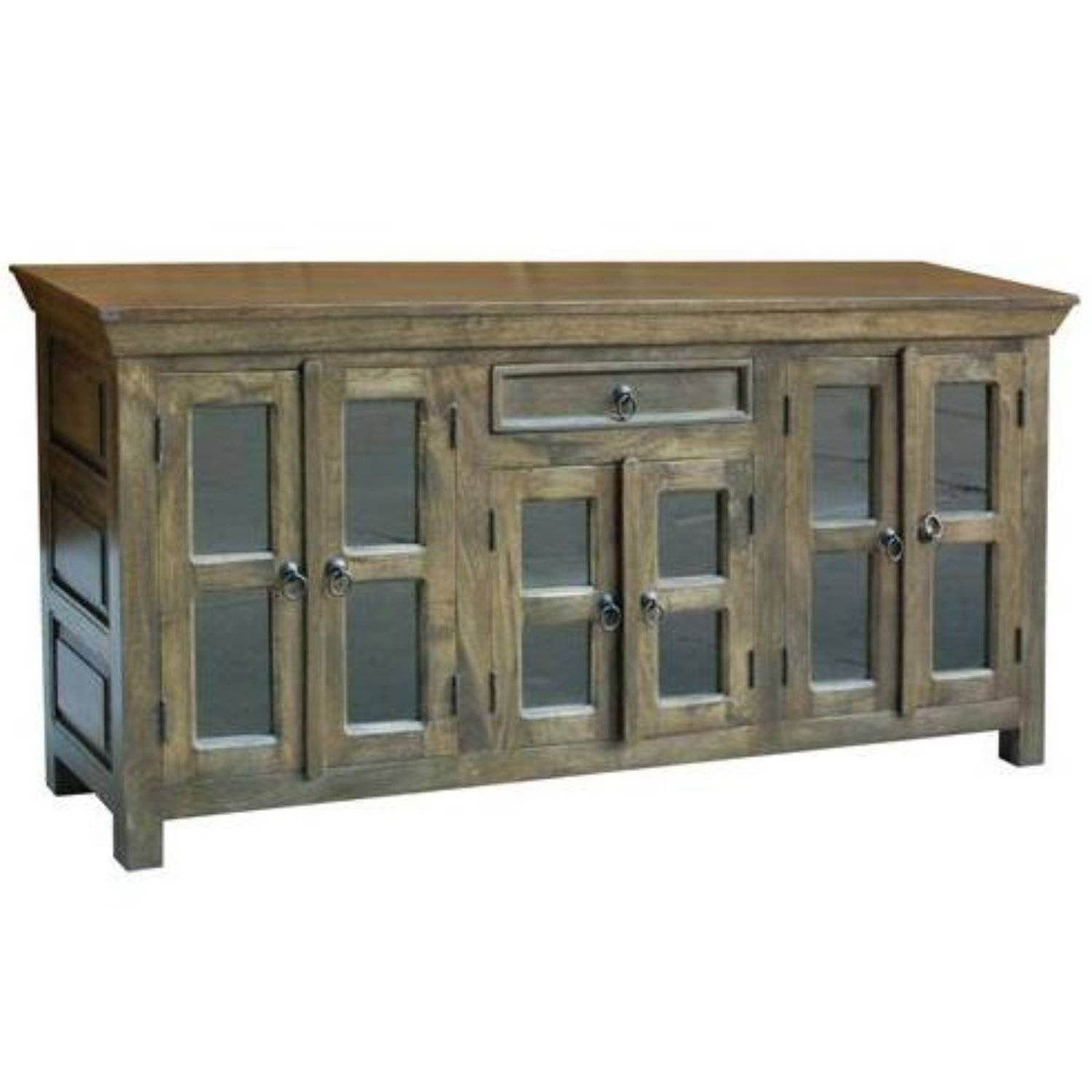 Glass Door Sideboard | Upscale Consignment in Sideboards With Glass Doors (Image 10 of 30)