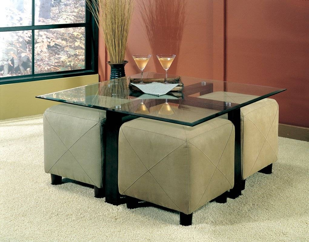 Glass Pedestal Coffee Tables You'll Love | Wayfair inside Wayfair Coffee Tables (Image 18 of 30)