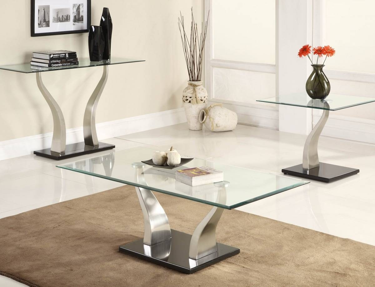Glass Sofa Tables Furniture | Tehranmix Decoration inside Metal Glass Sofa Tables (Image 14 of 30)