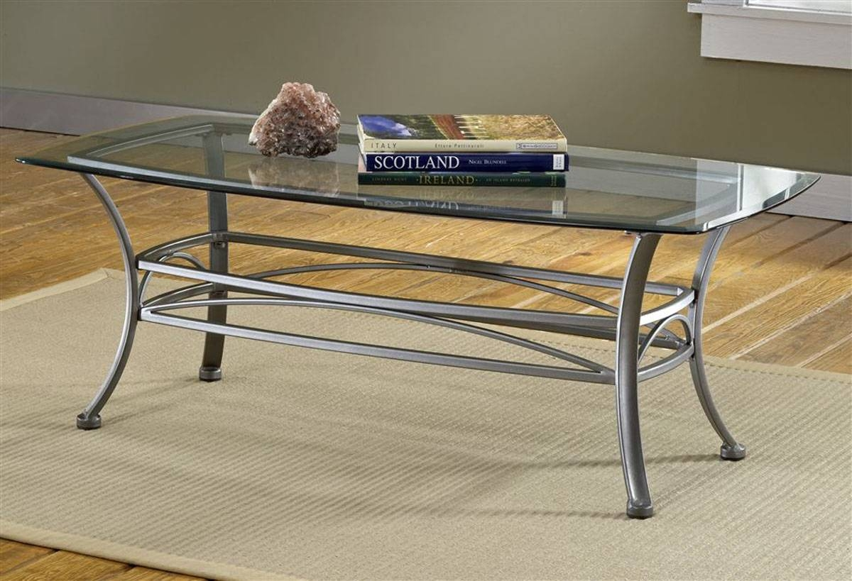 Glass Top Coffee Tables With Metal Base | Coffee Tables Decoration Intended For Coffee Tables Metal And Glass (View 23 of 30)