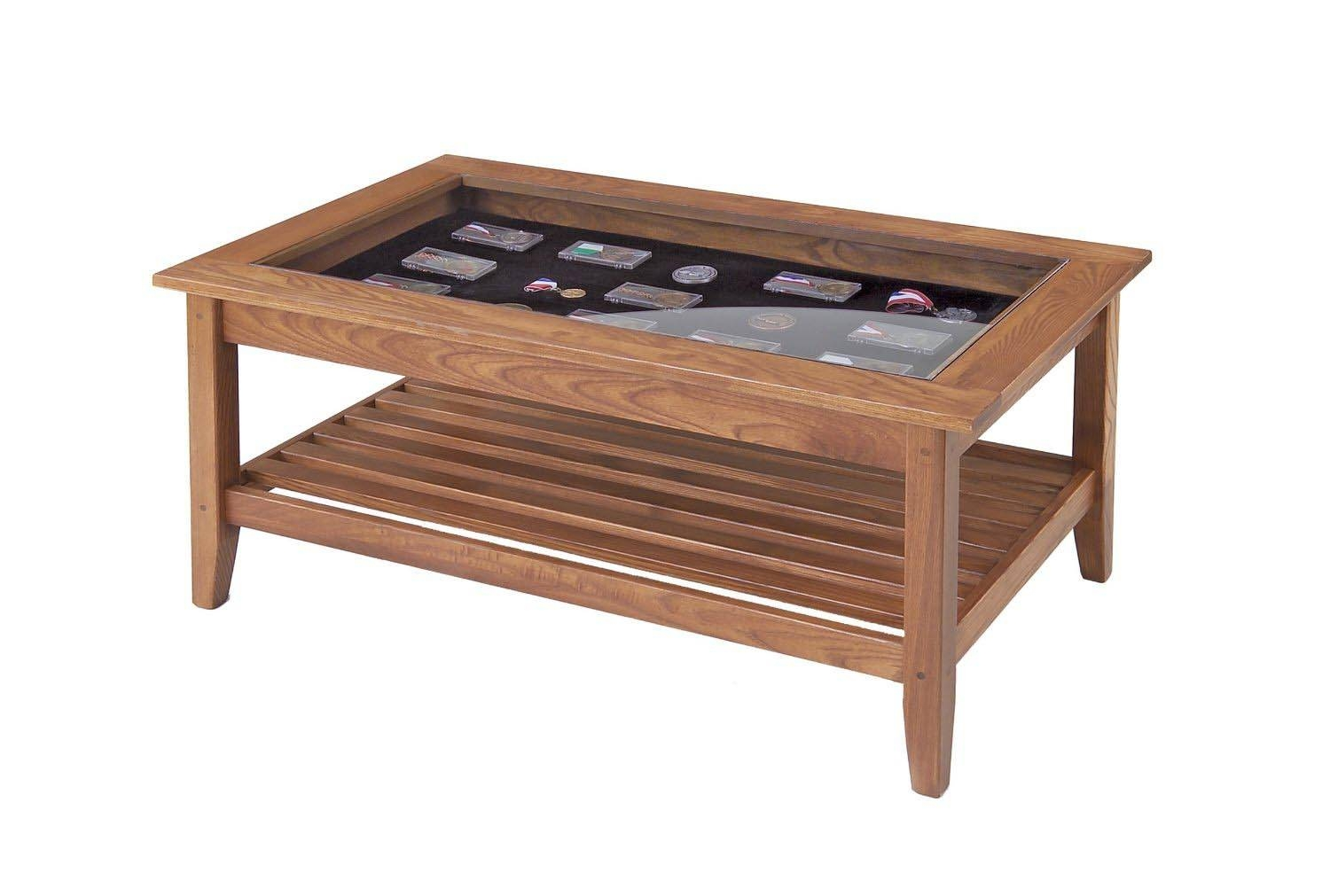 Glass Top Display Coffee Table With Drawers | Coffee Table Design throughout Glass Top Display Coffee Tables With Drawers (Image 24 of 30)