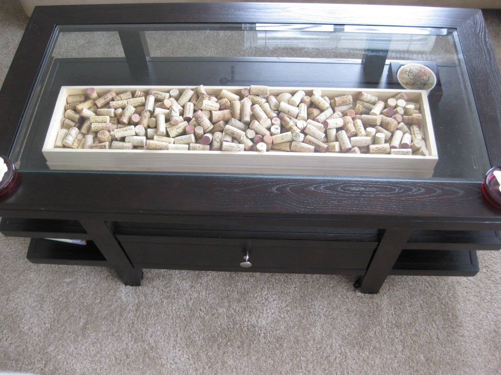 Glass Top Display Coffee Table With Drawers - Jericho Mafjar Project pertaining to Coffee Tables With Glass Top Display Drawer (Image 26 of 30)