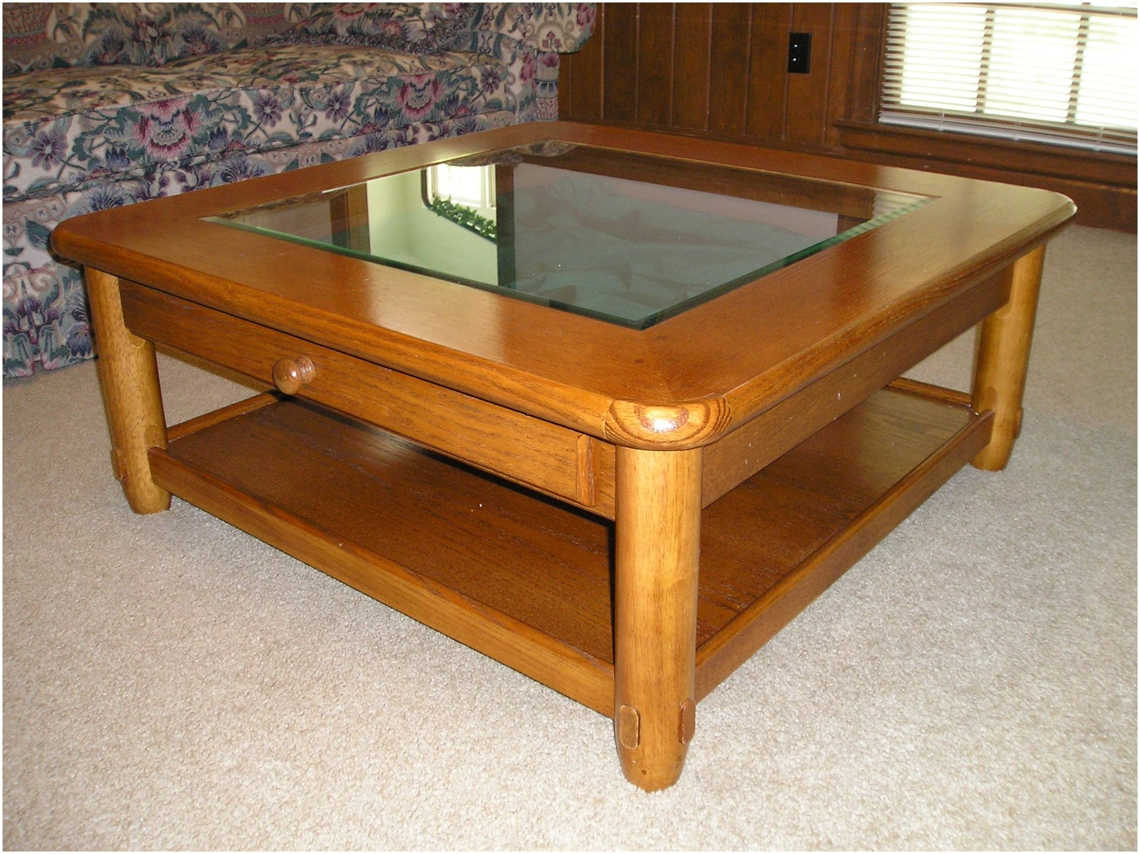 Glass Top Oak Coffee Table – Cocinacentral.co pertaining to Oak and Glass Coffee Tables (Image 17 of 30)