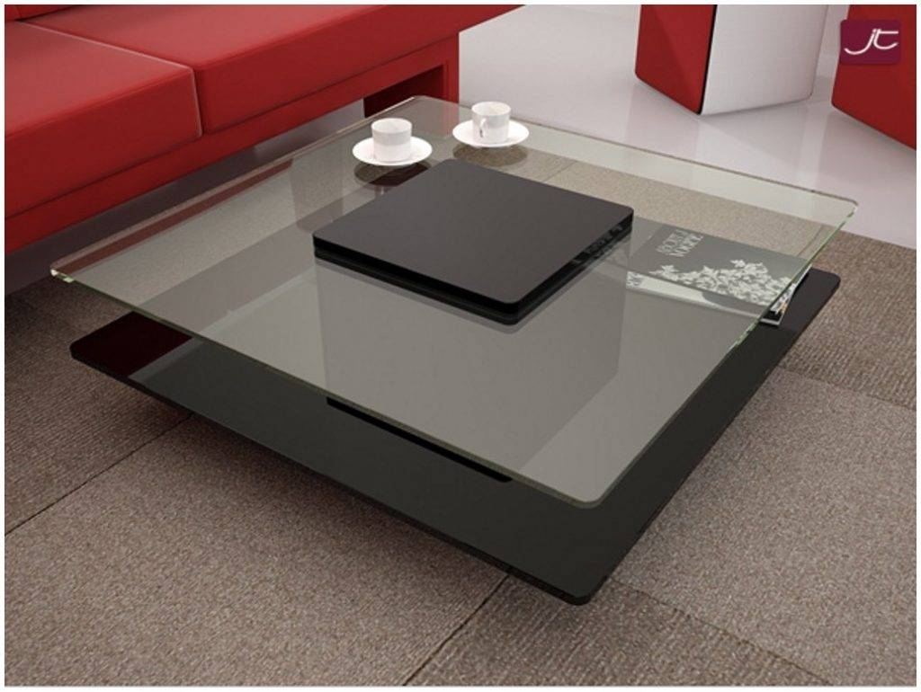 Glass Wood Coffee Table Modern – Cocinacentral.co throughout Modern Glass Coffee Tables (Image 14 of 30)