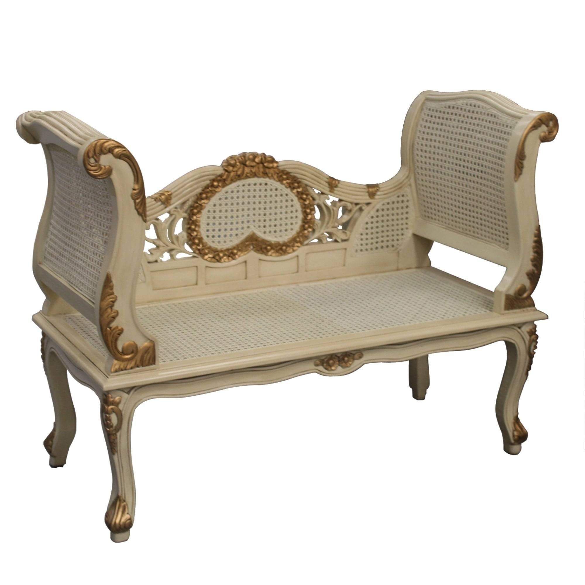 Gold And Cream French Style Sofa with regard to French Style Sofa (Image 13 of 25)