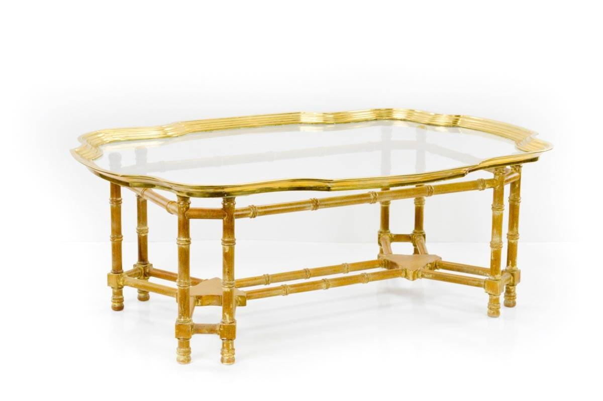 Gold Bamboo Coffee Table | Coffee Table Design Ideas pertaining to Gold Bamboo Coffee Tables (Image 18 of 30)