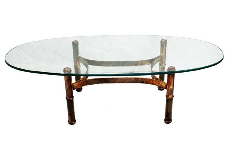 Gold Bamboo Coffee Table | Coffee Table Design Ideas with Gold Bamboo Coffee Tables (Image 19 of 30)