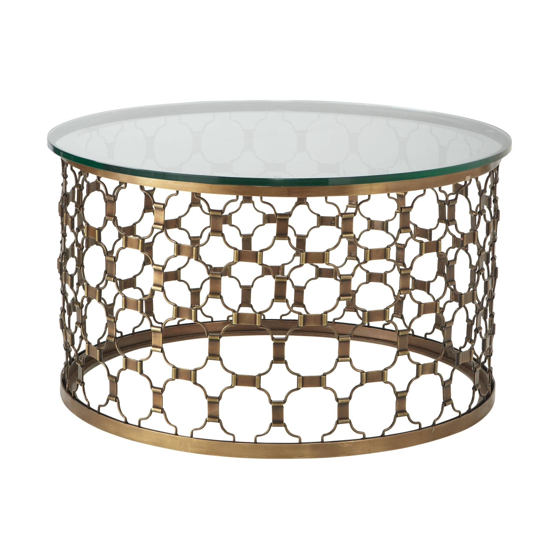Gold Base Glass Top Coffee Table | Coffee Tables Decoration within Antique Glass Top Coffee Tables (Image 25 of 30)