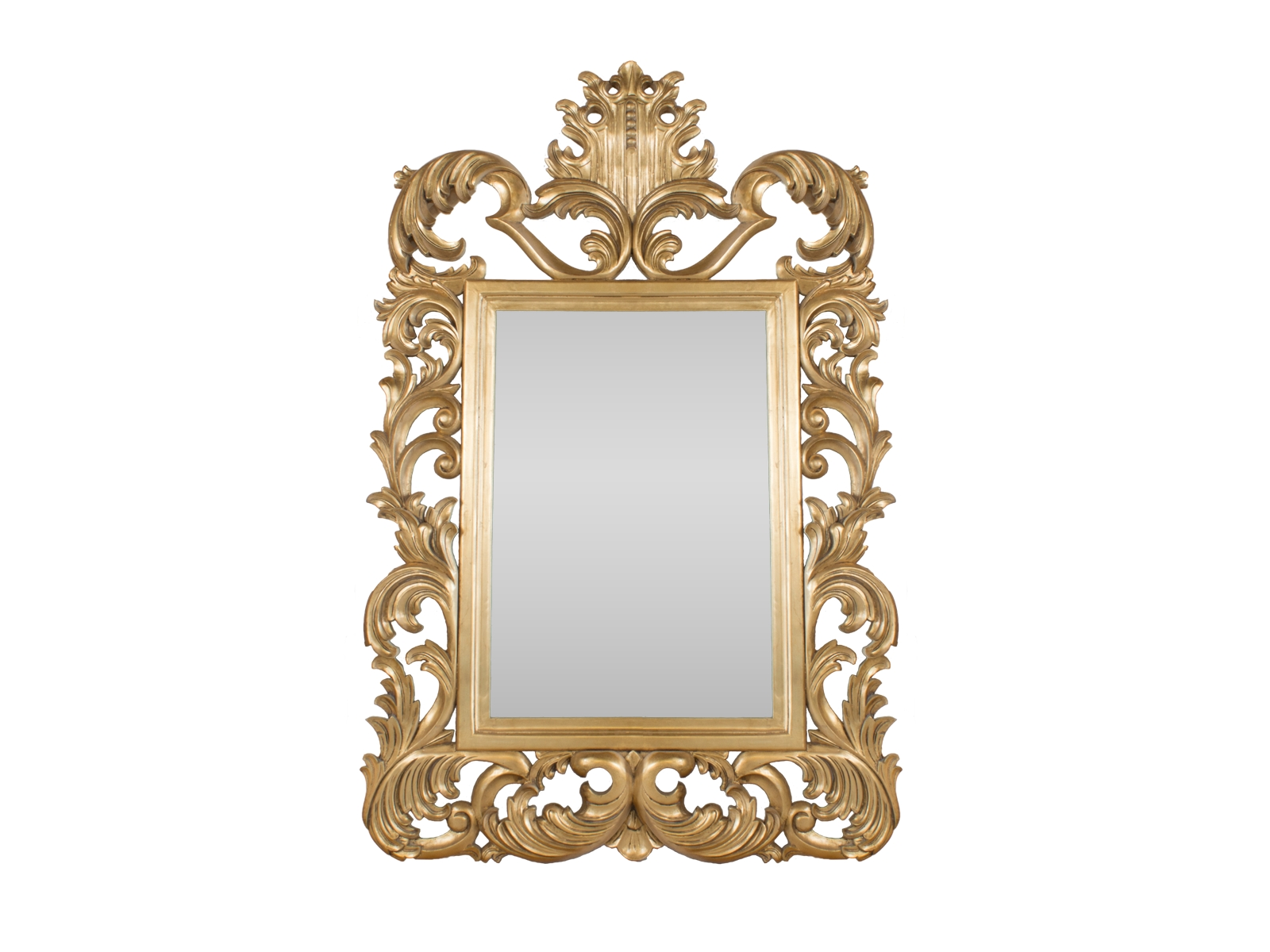 Gold Rococo Mirror - Hidden Mill within Gold Rococo Mirrors (Image 17 of 25)