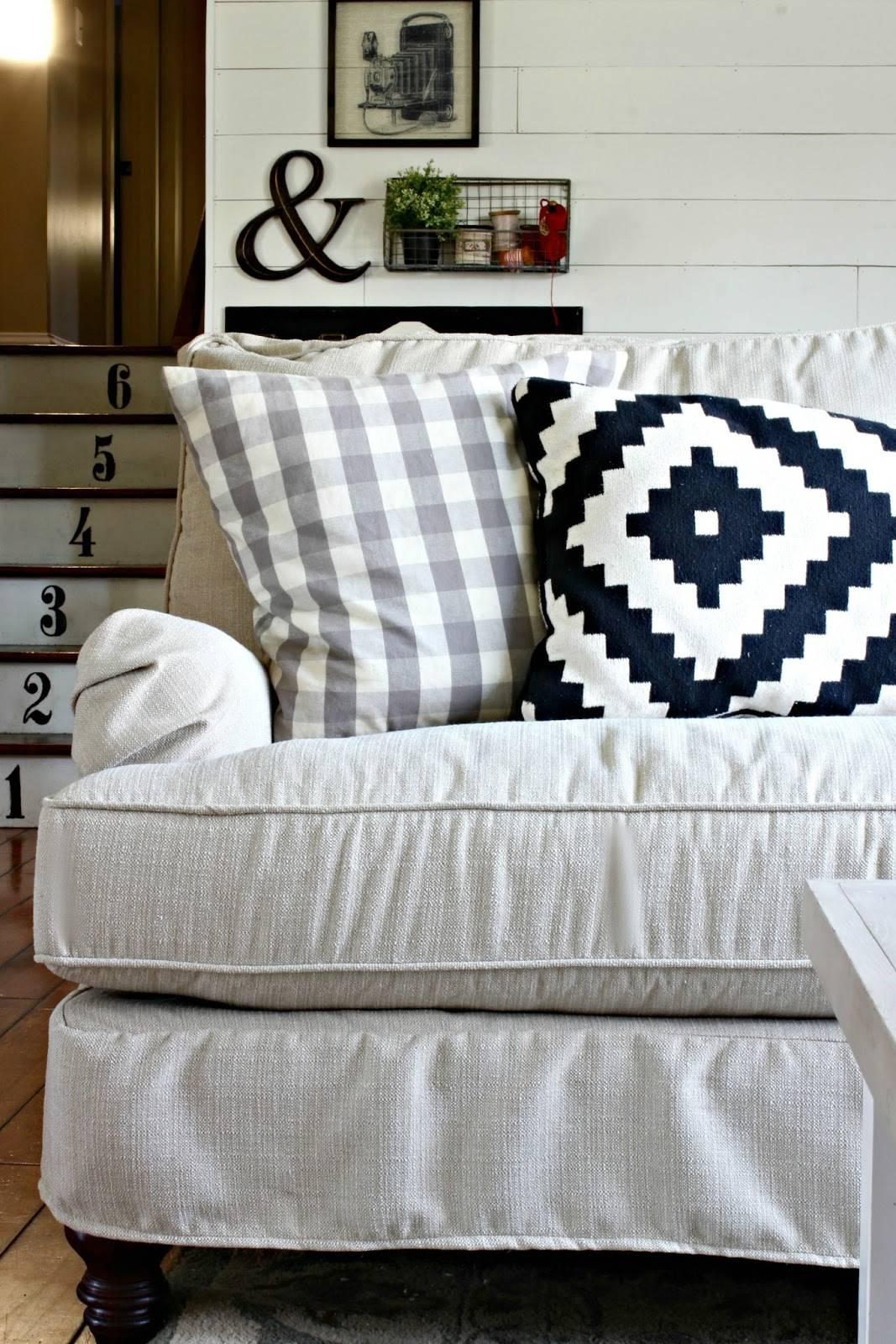 Golden Boys And Me: Our New Sofa {Birch Lane Montgomery regarding Lane Furniture Sofas (Image 10 of 25)