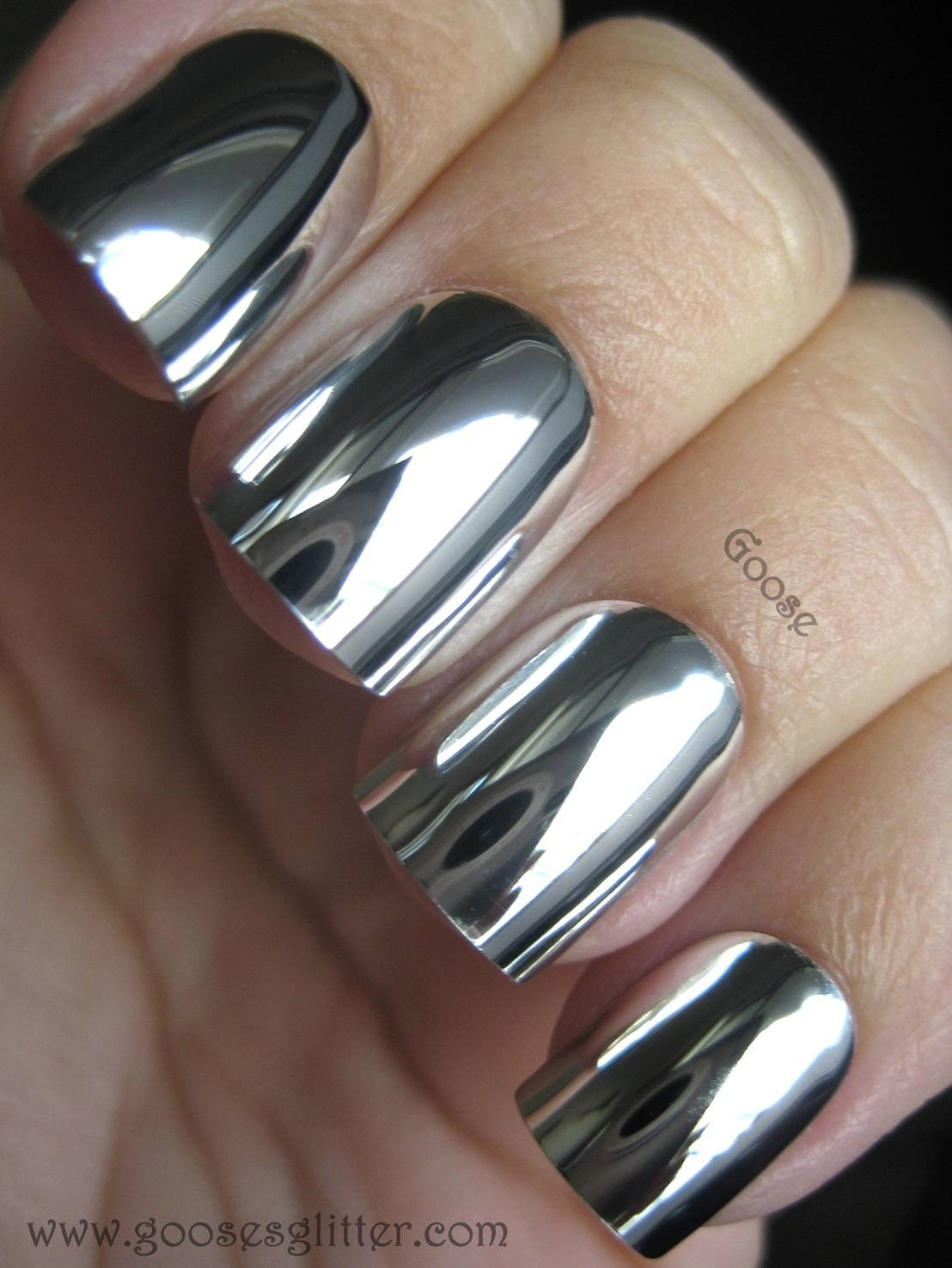 Goose's Glitter: Mirror Nails intended for Silver Glitter Mirrors (Image 14 of 25)