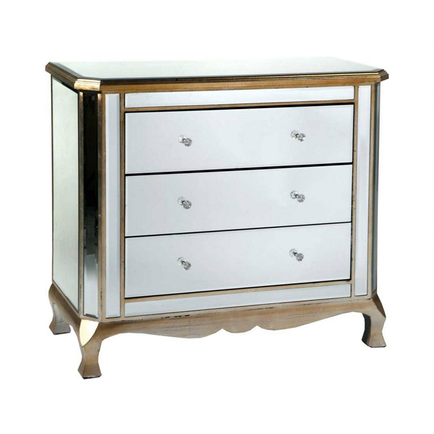 Gorgeous Mirror Chest Of Drawers On Venetian Mirrored 2 Over 3 with Venetian Mirrored Chest of Drawers (Image 7 of 25)