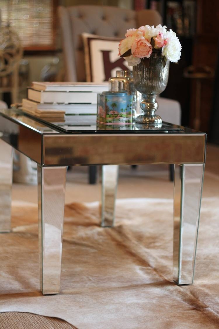 Gorgeous Mirrored Coffee Table — Jen & Joes Design inside Small Mirrored Coffee Tables (Image 17 of 30)