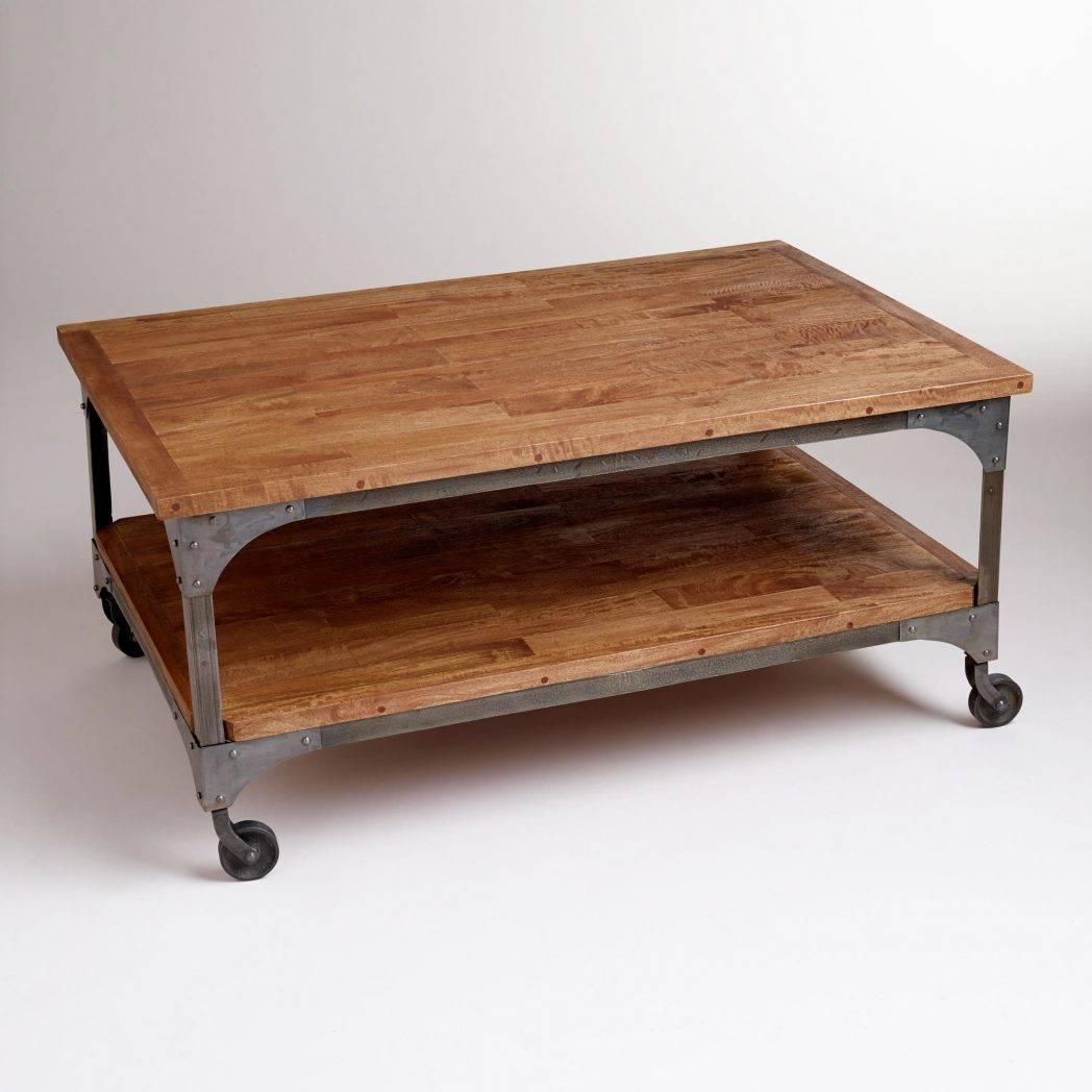 Gorgeous Rustic Coffee Tables With Wheels With Rustic Coffee Table regarding Rustic Coffee Table With Wheels (Image 18 of 30)