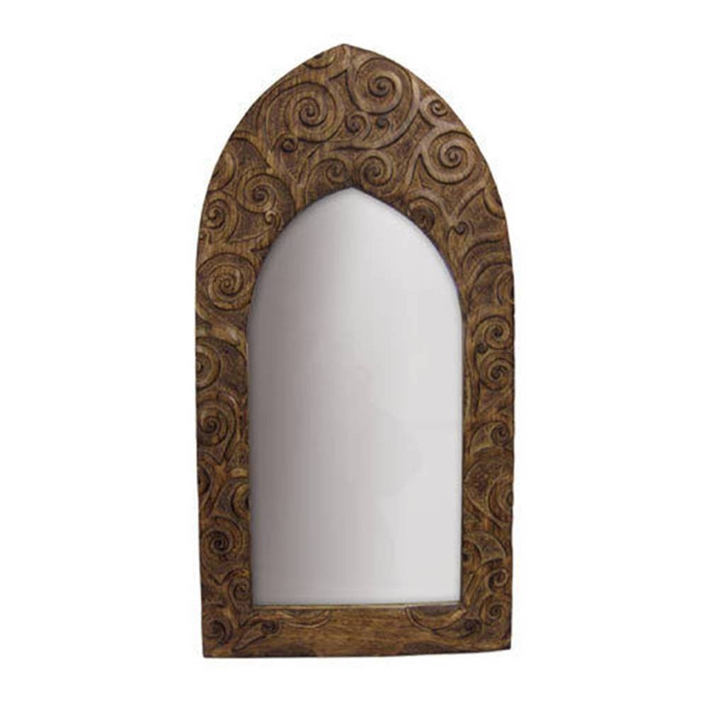 Gothic Arch Mirror | Ebay throughout Gothic Style Mirrors (Image 18 of 25)
