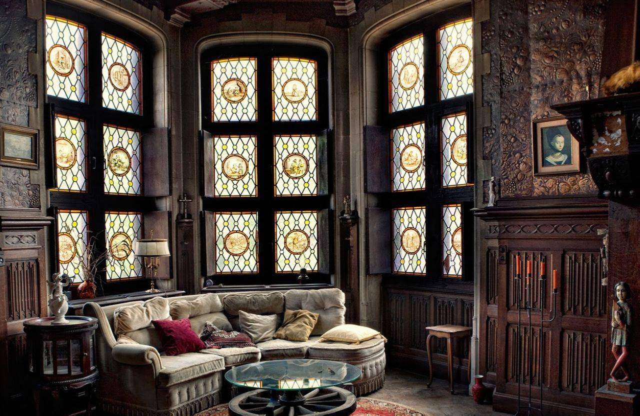 Gothic Style Interior Design Ideas inside Gothic Sofas (Image 23 of 30)