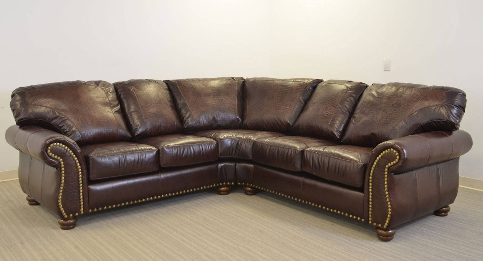 Grande Sofa ‹‹ The Leather Sofa Company with Old Fashioned Sofas (Image 7 of 30)