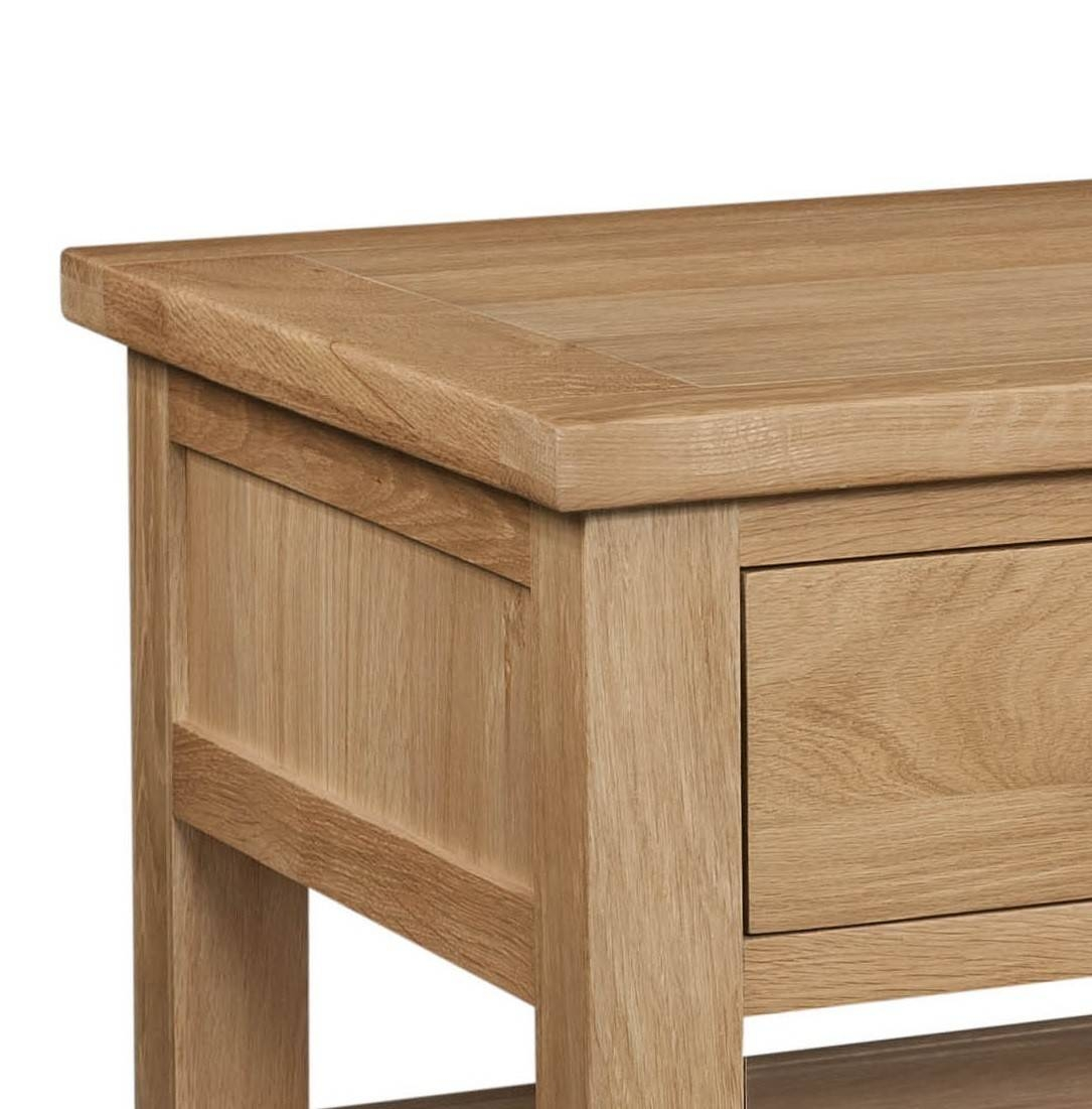 Grasmere Light Oak Coffee Table With Drawers | Oak Furniture Uk in Light Oak Coffee Tables With Drawers (Image 17 of 30)