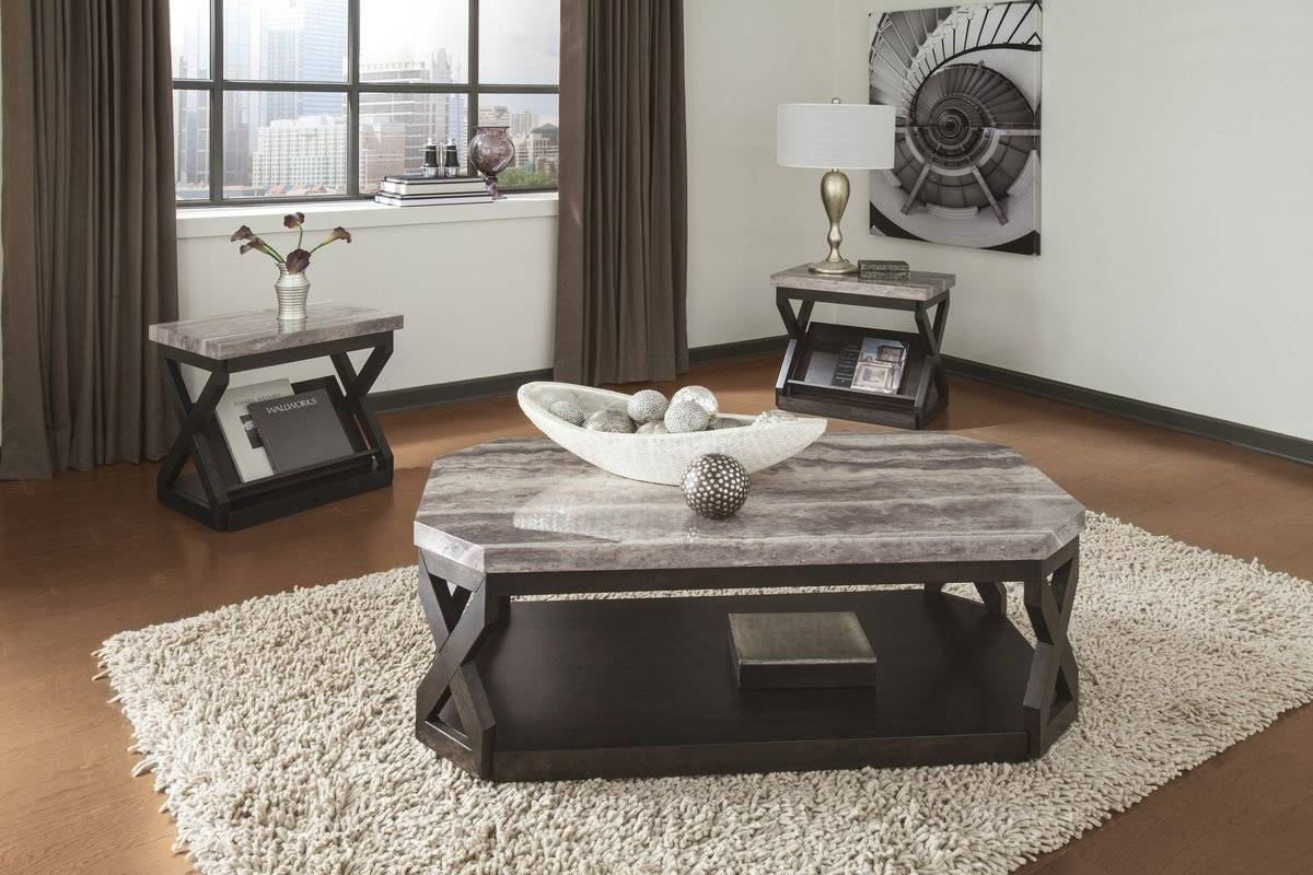 Grey Coffee Table Sets | Wayfair within Grey Coffee Table Sets (Image 21 of 30)