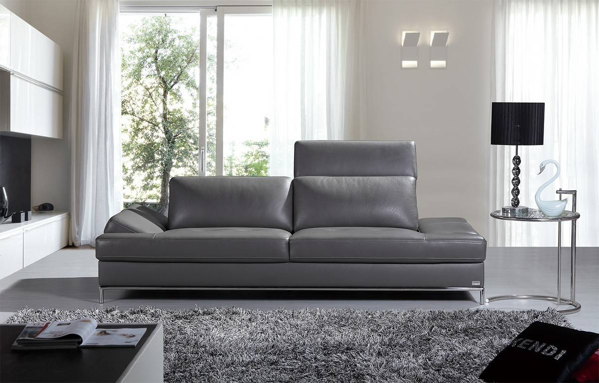 Grey Contemporary Sofa Furniture — Contemporary Furniture : How To with Grey Sofa Chairs (Image 17 of 30)