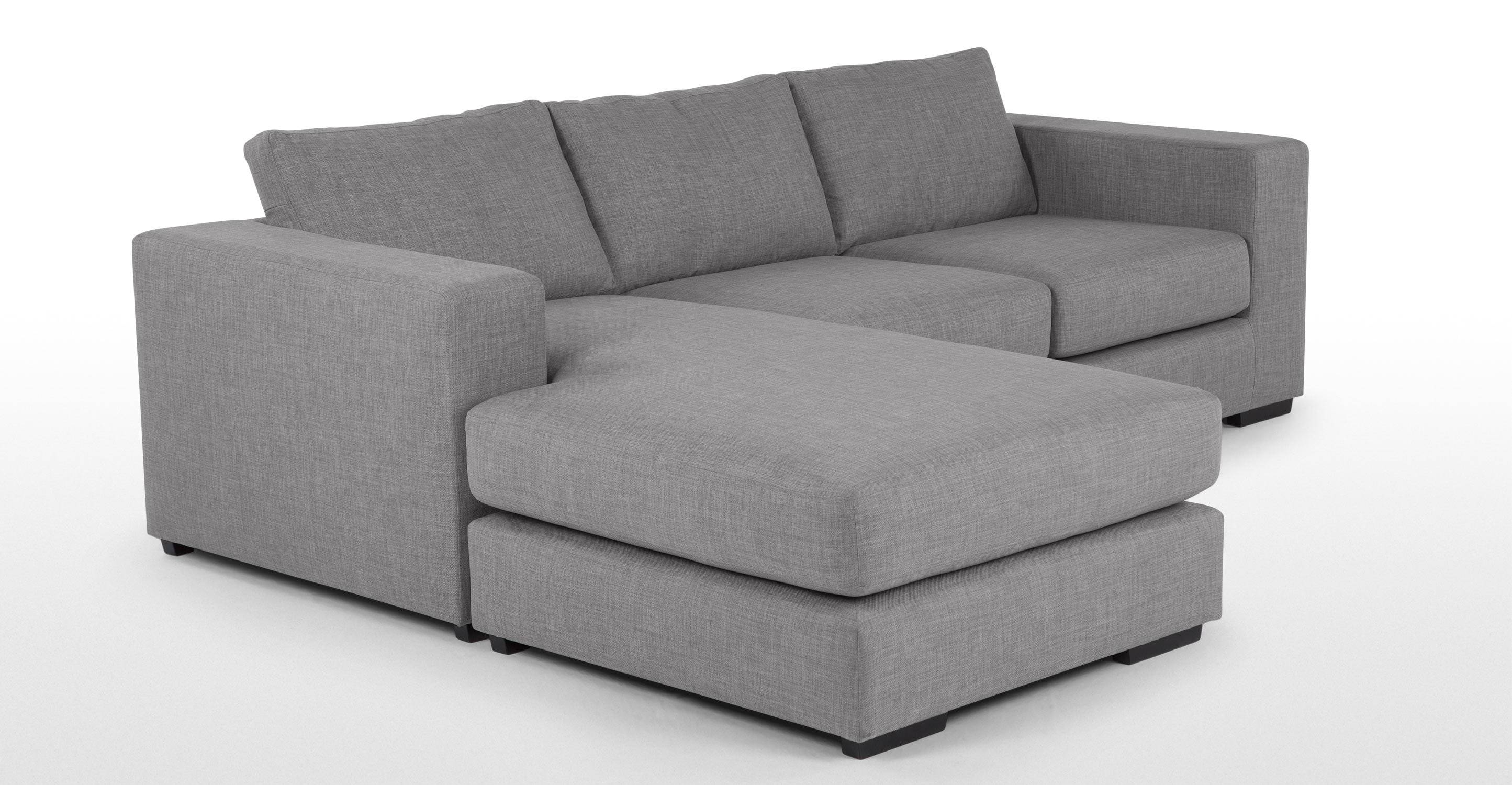 Grey Modular Sofa - Leather Sectional Sofa with regard to Modular Corner Sofas (Image 22 of 30)