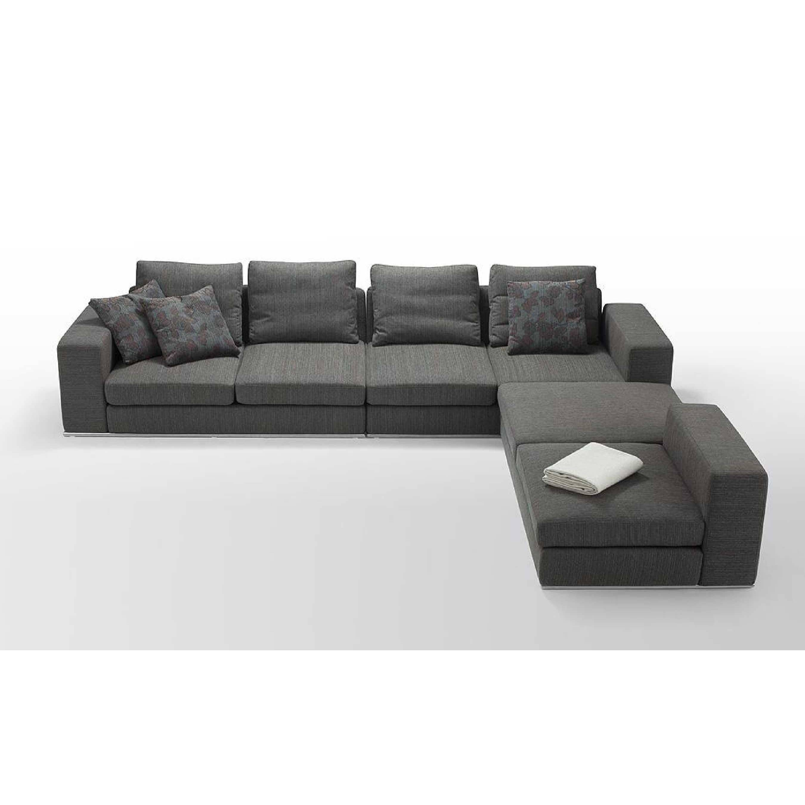 Grey Sleeper Sofa.ferris Sleeper Sofa Upholstery Grey. Ricardo throughout L Shaped Sectional Sleeper Sofa (Image 13 of 25)