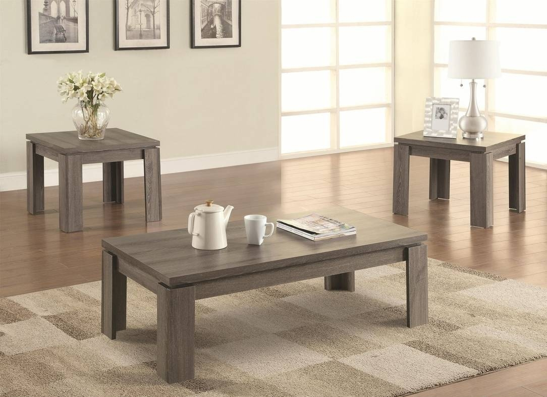 Grey Wood Coffee Table Set - Steal-A-Sofa Furniture Outlet Los regarding Grey Coffee Tables (Image 18 of 30)