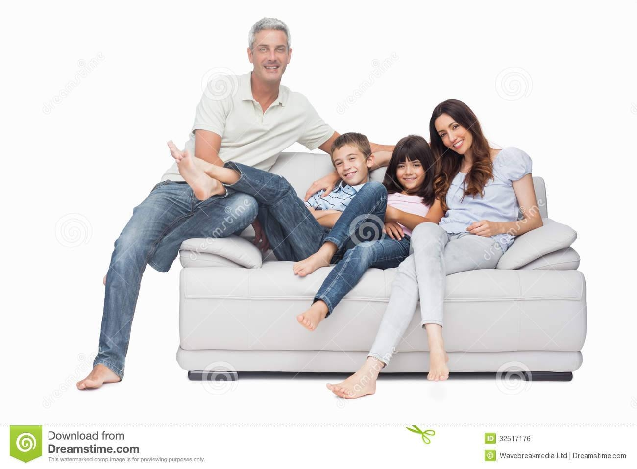 Grown Up Family On The Sofa Stock Images - Image: 36095644 for Family Sofa (Image 19 of 30)