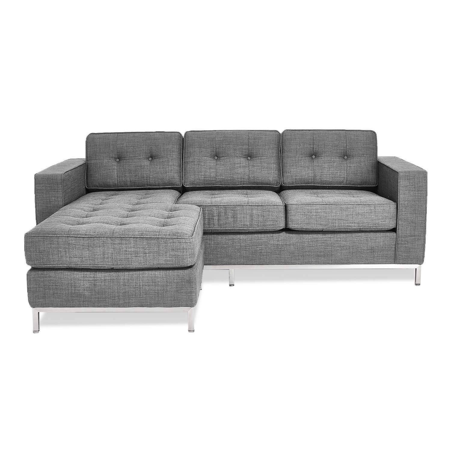 Gus* Modern Jane Loft Bi-Sectional – Abc Carpet & Home with Bisectional Sofa (Image 19 of 30)