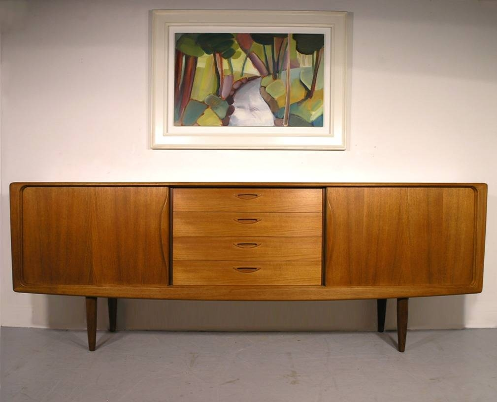 H. W. Klein Bramin Danish Teak Sideboard London Midlands Mid in Retro Sideboards (Image 10 of 30)