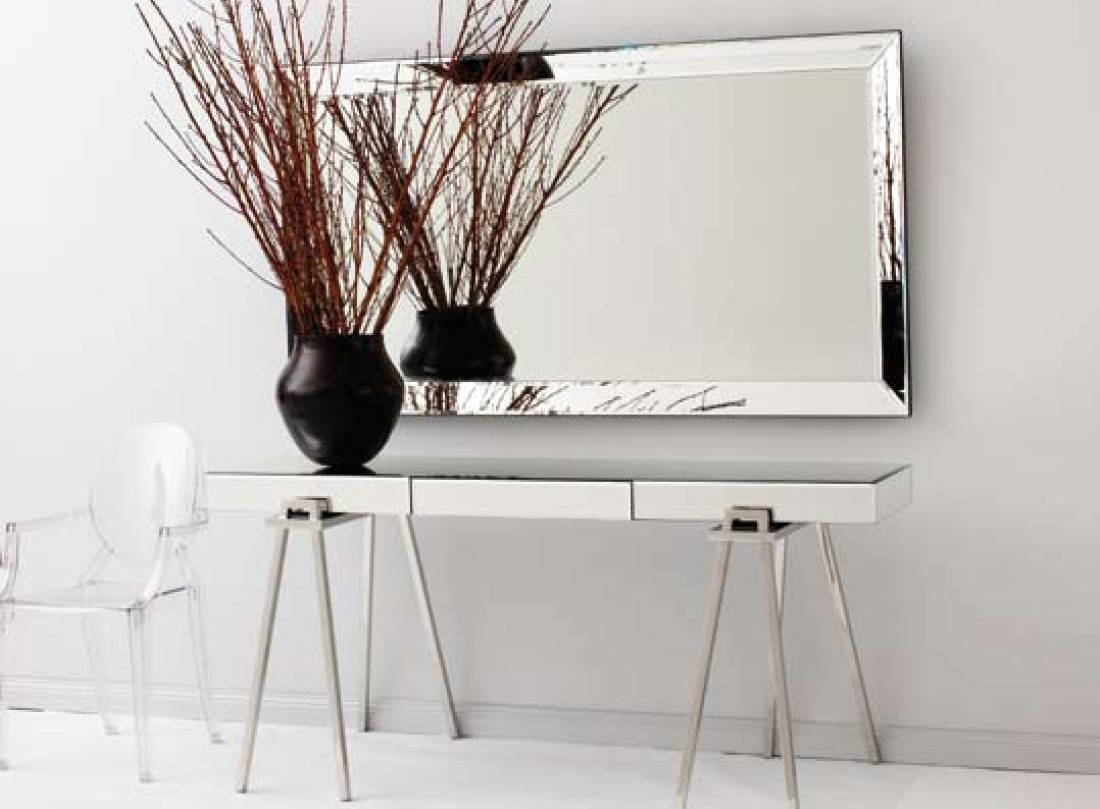 Hallway Console Table And Mirror - Amys Office for Contemporary Hall Mirrors (Image 21 of 25)
