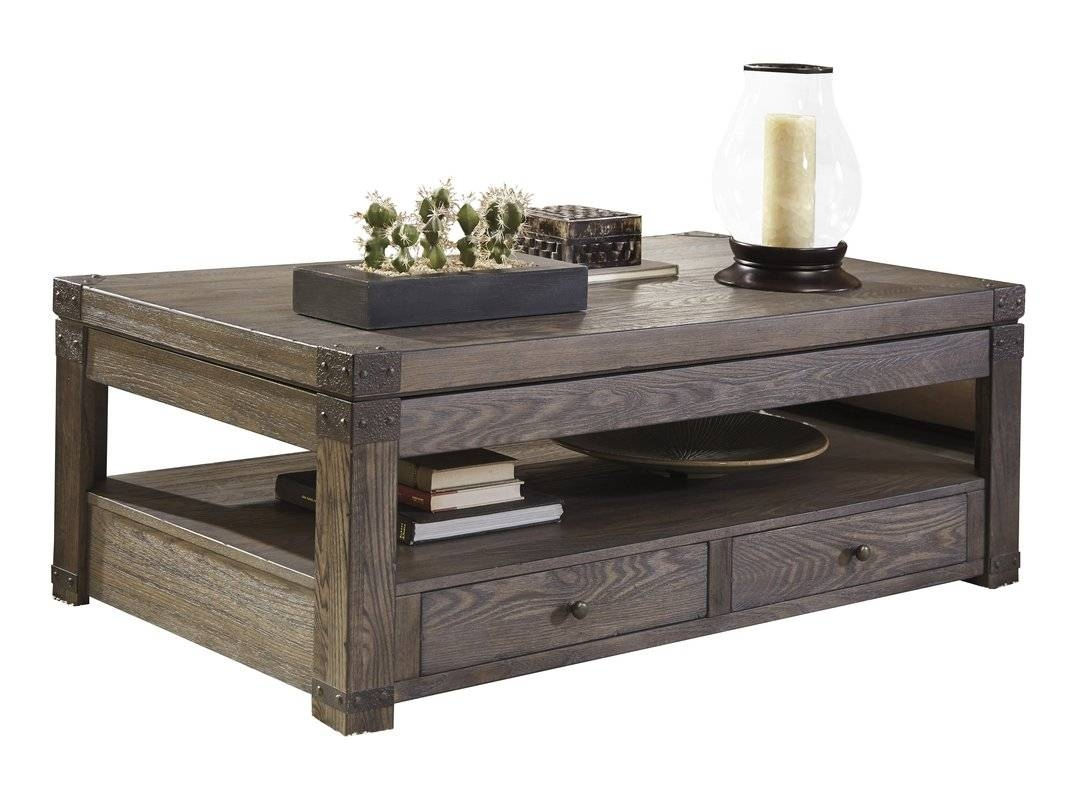 Hammary Kanson Coffee Table With Storage Cubes | Coffee Tables for Square Coffee Tables With Storage Cubes (Image 15 of 31)