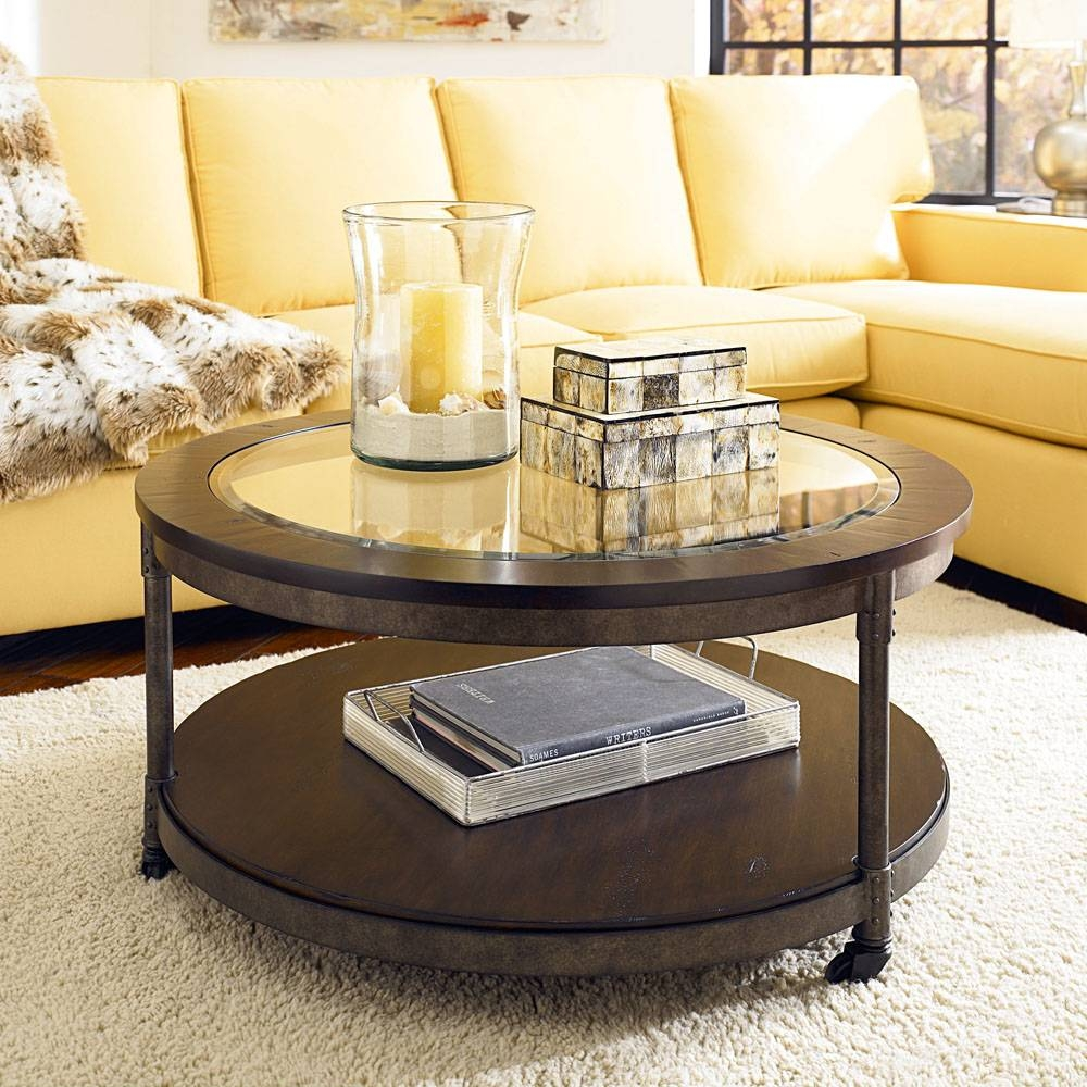 Hammary Structure Round 2 Piece Coffee Table Set - Beyond Stores intended for 2 Piece Coffee Table Sets (Image 26 of 30)