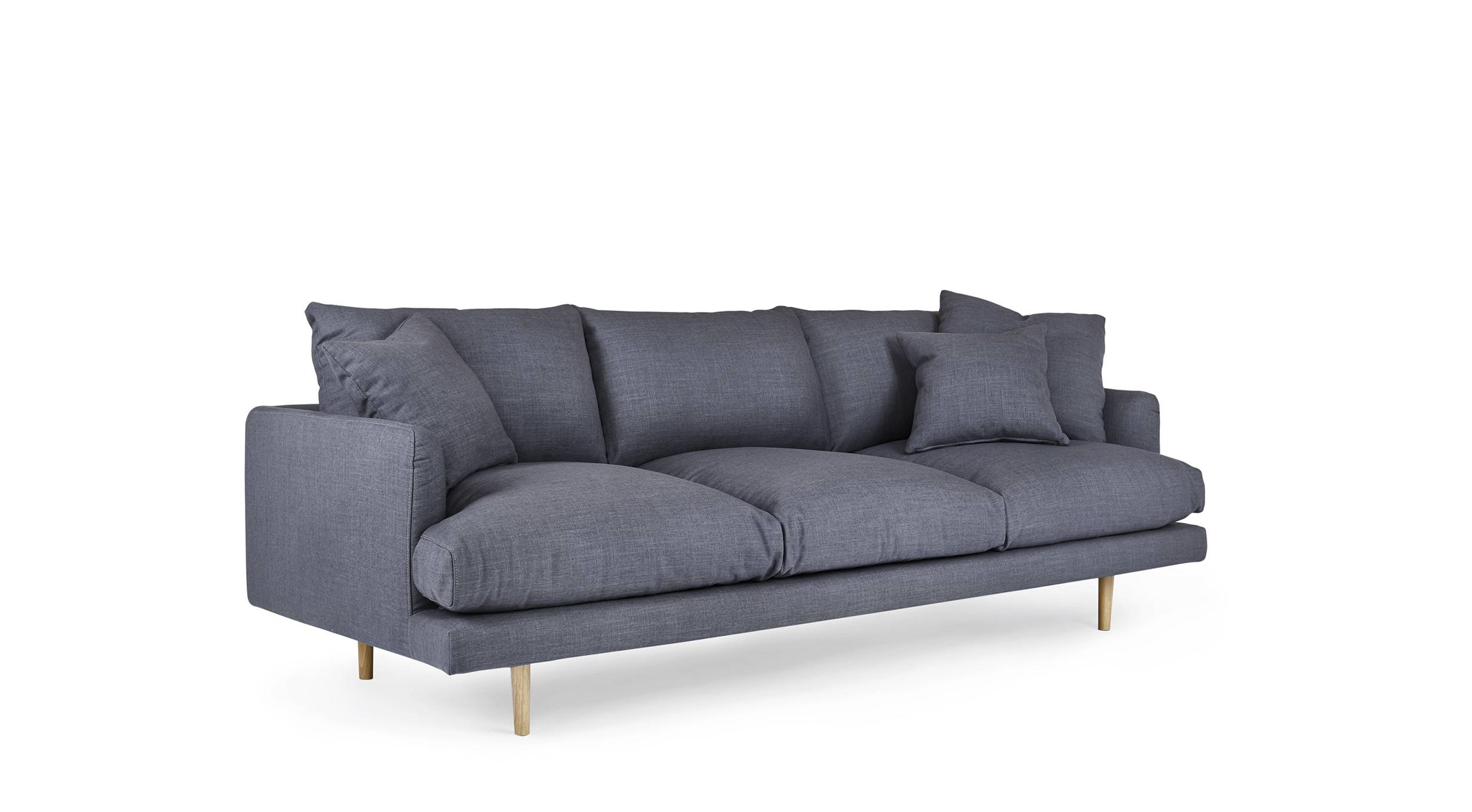 Hampton - 4 Seat Sofa | Loungelovers pertaining to 4 Seater Couch (Image 17 of 30)