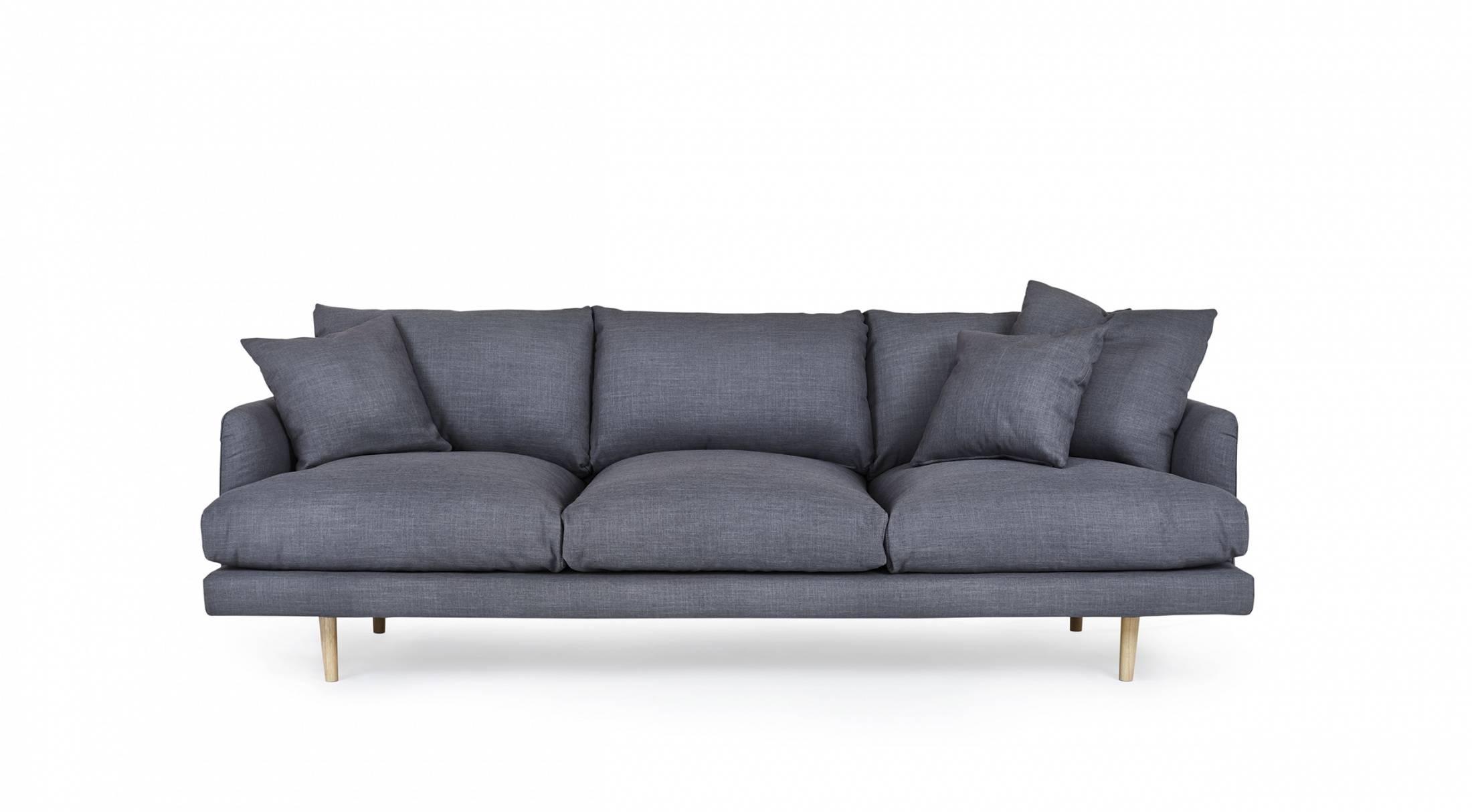 Hampton - 4 Seat Sofa | Loungelovers with regard to 4 Seat Sofas (Image 17 of 30)